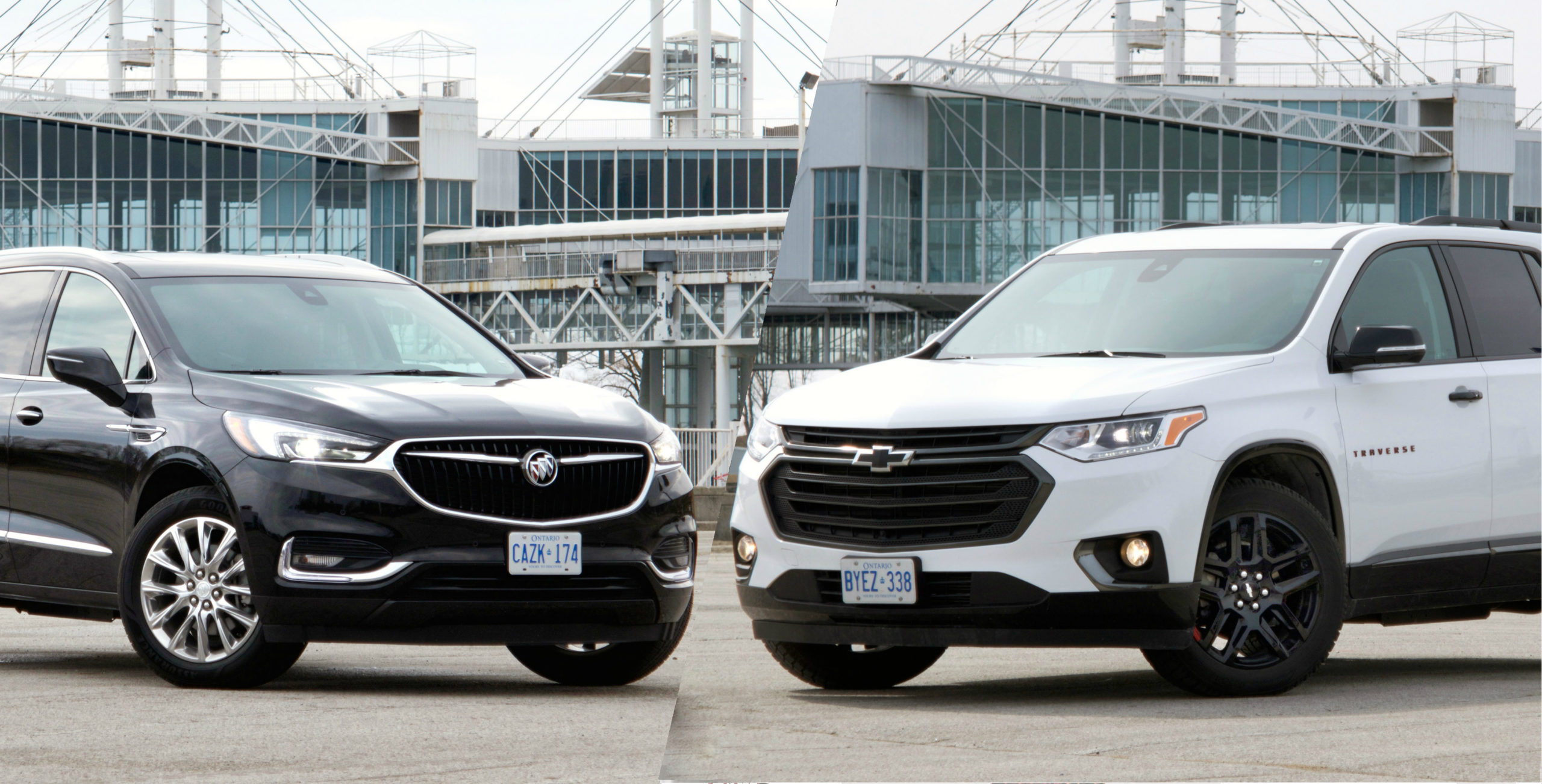 Review 2018 Chevrolet Traverse Premier AWD 2018 Buick Enclave Premium AWD scaled